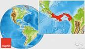 Panama Location