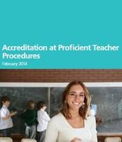Accreditation at Proficient Teacher Procedures
