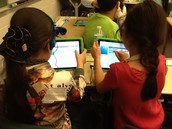 Third Graders participate in The Hour of Code