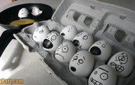 Funny Eggs With Faces