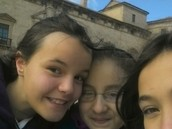 I am Alicia Vicario and my school, Los Doce Linajes,  were do a gyncana in Almazán.