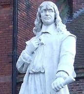 Statue of Andrew Marvell