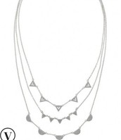 Pave Chevron Necklace - wear 26 ways!