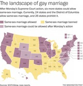 Same-sex Marriage Map