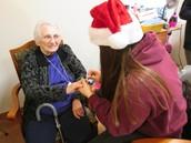 Bringing Holiday Cheer to Area Seniors