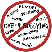 What is Cyber-bullying?  Give an Example.