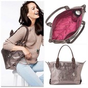 How Does She Do It bag-Pewter 60% off! ($39.20)