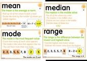 Mean , Mode , Median