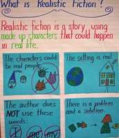 What is realistic fiction?