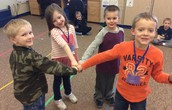 Kindergarten Right-Hand Stars