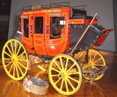 The Rosey Red Stagecoach