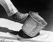 Kick the bucket once
