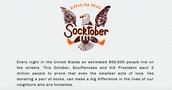 It's Socktober!