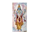 Standing picture of Vishnu