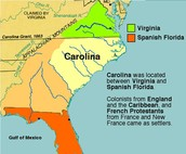 Another picture of Carolina on the map