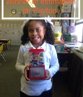 Payton wins estimation station!