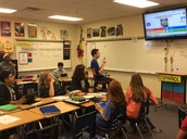 Playing a Kahoot