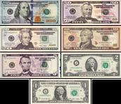 Ameerika dollar on kasutusel.