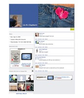 Liz Clayborn Fake Facebook