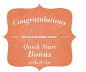 Quick Start Bonus (Jumpstart) Earners