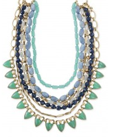 Sutton Stone Necklace, $178