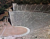 Ancient Greeks theatre.