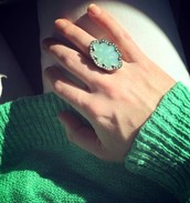 Seascape Statement Ring now $21