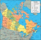 Canadas map