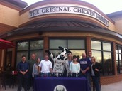 Medrano MS Hosts Content Night Fundraiser at Chick-fil-A