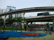 Playground at Sengkang Sculpture Park