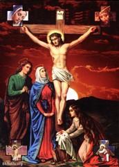 Crucificción de Jesucristo.
