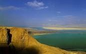 הנוף של ים המלח