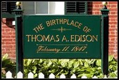 Where Thomas Edison grew up