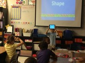Charades! Kids app In Mrs. Mack's class