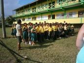 Une école....