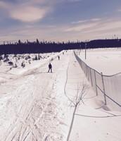 Walk to ski trails