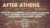 After Athens Alumni Panel