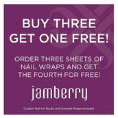 Buy three sheets, get one FREE!