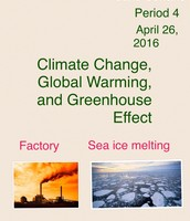 Climate Change Project Title Page