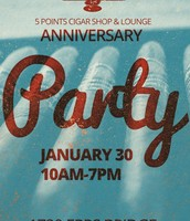 Cigar Lounge 1 Year Anniversary Party