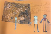 Grade 3 Children's Rights Art Models
