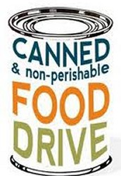 Potluck Dinner and Canned Food Drive