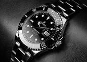 los la  Rolex oscuro negro reloj star de moda. $7,000-siete mil dólares