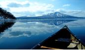 第1天台北→千歲空港→水車公園(鮭魚的故鄉)→日本第二深湖泊~支芴湖