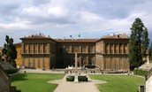 Exterior of the Palazzo Pitti