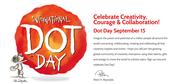International Dot Day Sept 15th