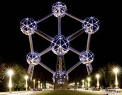 Atomium by night - Brussel