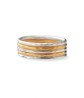 Stackable Band Rings-Set of 5, Size 7