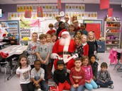 Our visit from Santa!