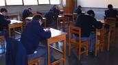 Alumnos de IV Medio en Exámenes IB Diploma